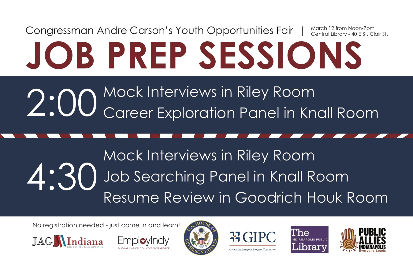 Youth Opportunities Fair | Congressman Andre Carson
